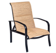 Woodard Fremont Padded Sling Adjustable Lounge Chair