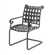 Woodard Ramsgate Strap Spring Dining Arm Chair