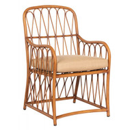 Woodard Cane Dining Arm Chair