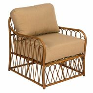 Woodard Cane Lounge Chair