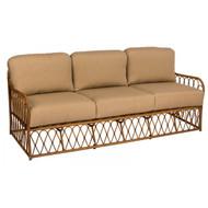 Woodard Cane Sofa