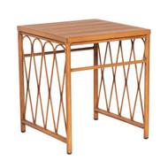 Woodard Cane End Table