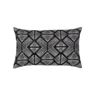 Bakuba Ebony Lumbar Pillow