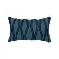 Ripple Deep Sea Lumbar Pillow