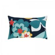 Floral Impact Lumbar Pillow