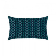 Alcazar Peacock Lumbar Pillow