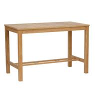 "Kingsley Bate Wainscott 55"" Rectangular Teak Counter Height Table"
