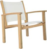 Kingsley Bate St. Tropez Teak Outdoor Club Chair