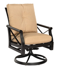 Woodard Andover Swivel Rocker Arm Chair
