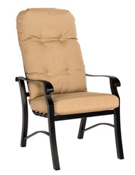 Woodard Cortland High Back Dining Arm Chair