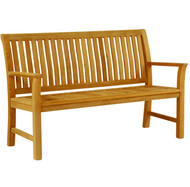Kingsley Bate Chelsea 4.5' Outdoor Teak Bench