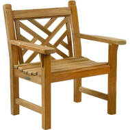 Kingsley Bate Chippendale Garden Chair
