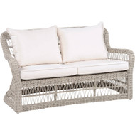 Kingsley Bate Southampton Wicker Deep Seating Love Seat
