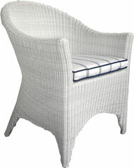 Kingsley Bate Cape Cod Outdoor Wicker Dining Arm Chair