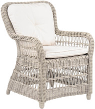 Kingsley Bate Southampton Outdoor Wicker Dining Arm Chair