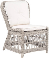 Kingsley Bate Southampton Outdoor Wicker Dining Side Chair