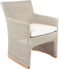 Kingsley Bate Westport Wicker Outdoor Dining Arm Chair