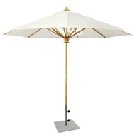 Kingsley Bate 9' Teak Market Umbrella