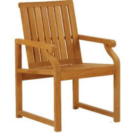 Kingsley Bate Nantucket Teak Patio Arm Chair