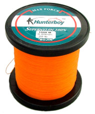 Hunterboy Opaque Orange Mono Fishing Line 1000m 20lb Ultra High Visibility Nylon