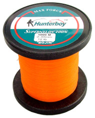 Hunterboy Opaque Orange Mono Fishing Line 1000m 12lb Ultra High Visibility Nylon