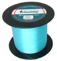 Hunterboy Maxforce Super Nylon Copolymer Fishing Line Electric Blue 1000m 20lb Monofilament