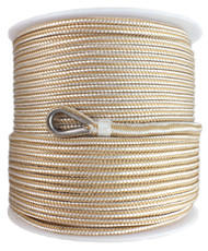 6mm x 150M Double Braid Nylon Anchor Rope, Super Strong, Great for Drum Winches