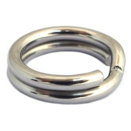 Catch Control Split Rings Stainless Steel 50pk
