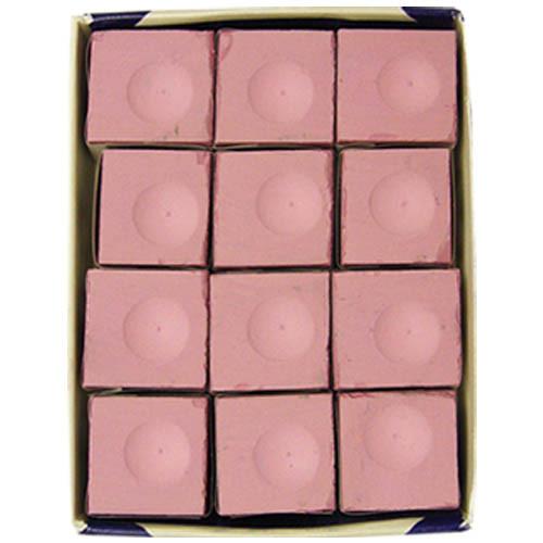 Silver Cup Chalk, Pink, 12-Piece Box