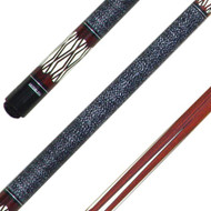 Sterling White Diamonds Pool Cue