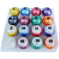 Sterling Designer Candy Pool Ball Set