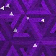 ArtScape 7' Purple Triangles Pool Table Cloth