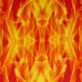 ArtScape 7' Flame Pool Table Cloth
