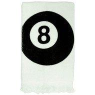 8-Ball Cue Towel
