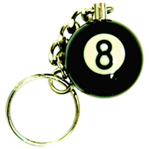 1 8-Ball Key Chain