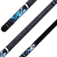 Sterling Dragon and Reaper Pool Cue