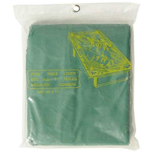 Standard 9 Ft. Pool Table Cover, Green