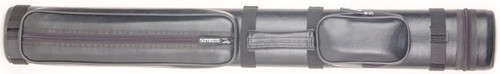 Sterling Black Hard Pool Cue Case for 2 Butts, 3 Shafts