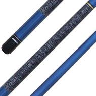 Sterling Metallic-Blue Pro Jump-Break Cue