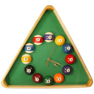 Giant Triangle Billiards Clock