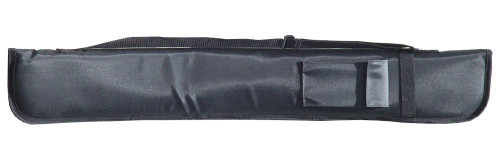 Sterling Black Deluxe Nylon Pool Cue Case for 1 or 2 Cues
