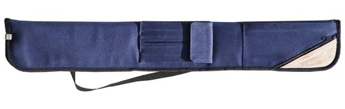 Sterling Blue Angora Pool Cue Case for 2 Cues