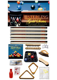 Sterling Gold Series Accessory Package, Mahogany