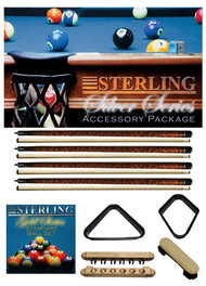 Sterling Silver Series Accessory Package, Mahogany