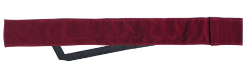 Sterling Burgundy Velvet Cue Case with Shoulder Strap