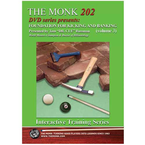 The Monk 202 DVD - Foundation for Banking & Kicking, Volume 3
