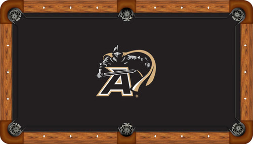 Army Black Knights 8' Pool Table Felt