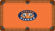 Auburn University Tigers 7' Pool Table Felt