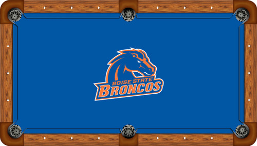 Boise State University Broncos 7' Pool Table Felt