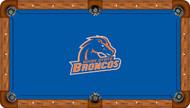 Boise State University Broncos 8' Pool Table Felt